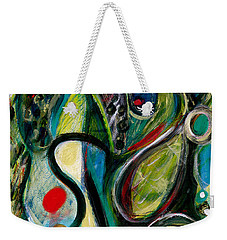 Northern Lights 2 Weekender Tote Bag