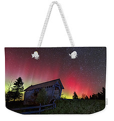 Northern Lights - Painted Sky Weekender Tote Bag