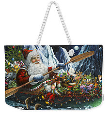 Northern Passage Weekender Tote Bag by Lynn Bywaters
