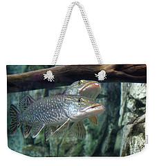 Northern Pike Weekender Tote Bag
