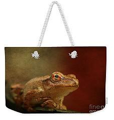 Northern Spring Peeper Weekender Tote Bag