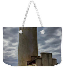 North Head Lighthouse Weekender Tote Bag by Cathy Anderson