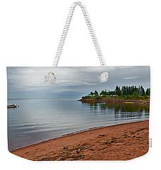 Northumberland Shore Nova Scotia Red Sand Beach Weekender Tote Bag