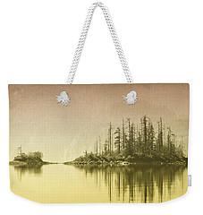Northwest Islet Weekender Tote Bag by Richard Farrington