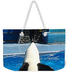Weekender Tote Bag featuring the photograph Nose Dive by David Nicholls