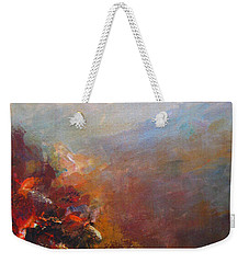 Nostalgic Autumn Weekender Tote Bag