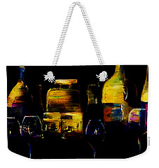 Weekender Tote Bag featuring the painting Nostalgic For Two by Lisa Kaiser