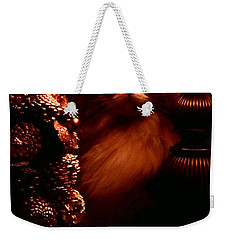 Not A Creature Was Stirring... Weekender Tote Bag