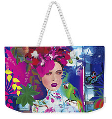 Not Always So Blue - Limited Edition 2 Of 20 Weekender Tote Bag by Gabriela Delgado