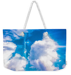 Not Just Another Cloudy Day Weekender Tote Bag