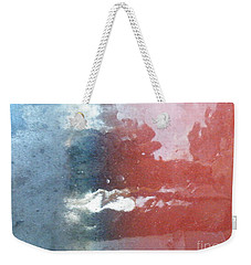 Weekender Tote Bag featuring the photograph Not Making Violet by Brian Boyle