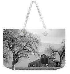 Not Much Time Left Bw Weekender Tote Bag by Debby Pueschel