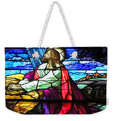 Not My Will....  Weekender Tote Bag by Lydia Holly
