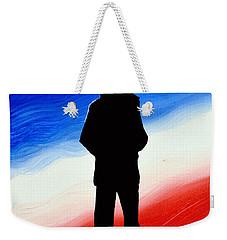 Not Self But Country Weekender Tote Bag
