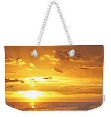 Not Yet - Sunset Art By Sharon Cummings Weekender Tote Bag