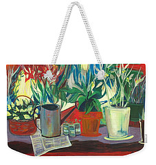 Not Your Grandpa's Potting Stand Weekender Tote Bag