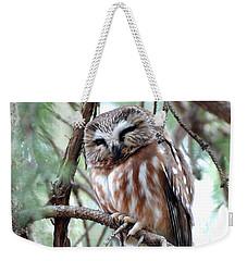 Northern Saw-whet Owl 2 Weekender Tote Bag