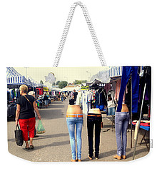 Nothing Less Than Three Graces Weekender Tote Bag