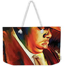 Notorious Big - Biggie Smalls Artwork Weekender Tote Bag