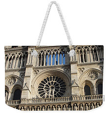 Weekender Tote Bag featuring the photograph Notre Dame by Tiffany Erdman