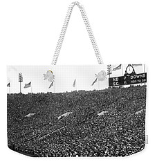 Notre Dame-usc Scoreboard Weekender Tote Bag