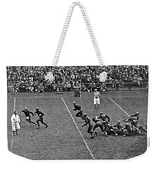 Notre Dame Versus Army Game Weekender Tote Bag