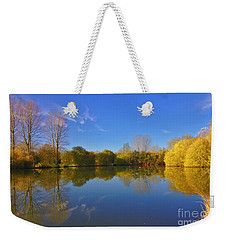 November Lake 1 Weekender Tote Bag