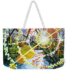 The Glorious River Weekender Tote Bag