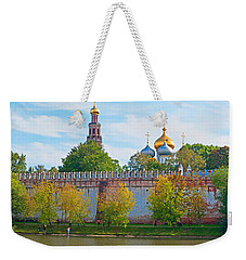 Novodevichy Convent And Cathedral Of Weekender Tote Bag