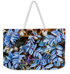 Now Thats Blue Weekender Tote Bag