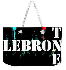 Now Witness Lebron James Weekender Tote Bag