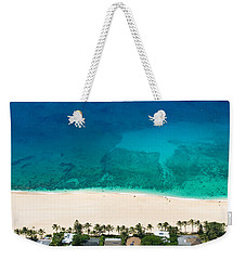 Pipeline Reef From Above Weekender Tote Bag
