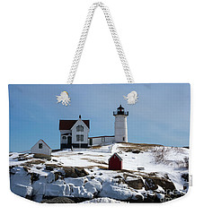 Nubble Light 2 Weekender Tote Bag by Kevin Fortier