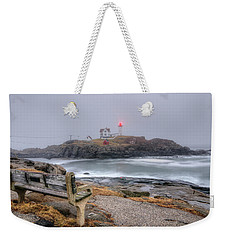 Nubble Lighthouse View Weekender Tote Bag