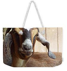 Nubian Goat Weekender Tote Bag