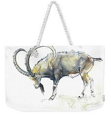 Nubian Ibex Weekender Tote Bag