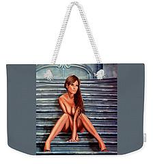 Nude City Beauty Weekender Tote Bag
