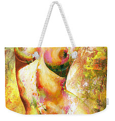 Nude Details - Digital Vibrant Color Version Weekender Tote Bag
