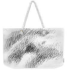 Nude Female Abstract Drawings 1 Weekender Tote Bag