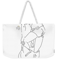 Nude Female Drawings 1 Weekender Tote Bag