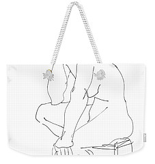 Nude Female Drawings 12 Weekender Tote Bag