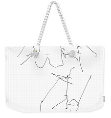 Nude Female Drawings 14 Weekender Tote Bag