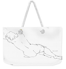 Nude Female Drawings 9 Weekender Tote Bag