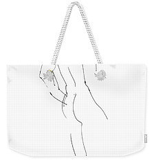 Nude Male Drawings 2 Weekender Tote Bag