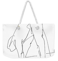 Nude Male Drawings 32 Weekender Tote Bag