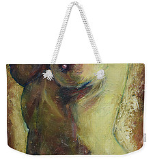 Nude Female Torso Weekender Tote Bag