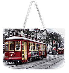 Number 2024 Trolley Weekender Tote Bag by Tammy Wetzel