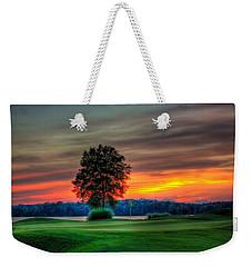Number 4 The Landing Reynolds Plantation Art Weekender Tote Bag