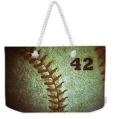 Number 42 Weekender Tote Bag