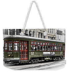 Number 965 Trolley Weekender Tote Bag by Tammy Wetzel